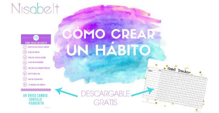 Cómo crear un hábito