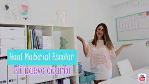Haul Material Escolar 2018-2019. MI CUARTO DE ESTUDIO + Sorteo