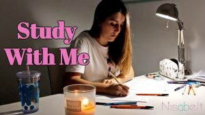 Study with me (no music) Real Time Study Session 1 hour