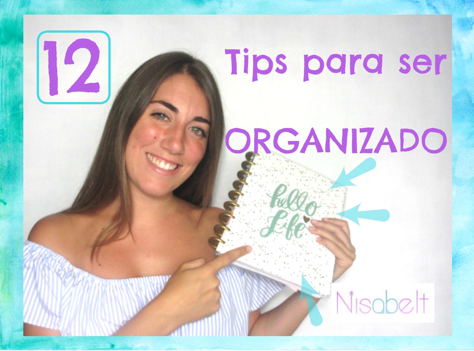 Los 12 tips para ser organizado en el estudio